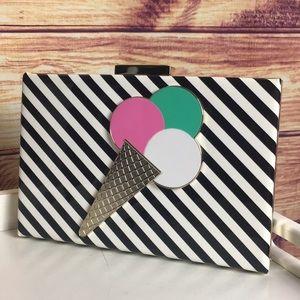 NWT Kate Spade Emanuelle Ice Cream Clutch Bag